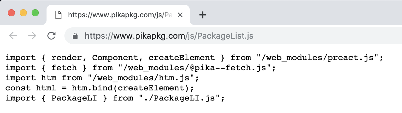 A Future Without Webpack